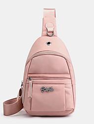 cheap -women nylon waterproof chest bag crossbody bag