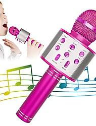 cheap -Karaoke Wireless Microphone Portable Karaoke Machine Bluetooth Android / iPhone Compatible Plastics Boys and Girls Kids Adults 1 pcs Graduation Gifts Toy Gift