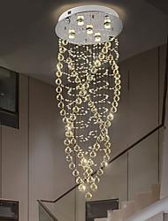 cheap -5-Light 50 cm Pendant Lantern Design Flush Mount Lights Stainless Steel Electroplated Modern 110-120V 220-240V