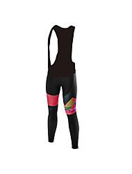 cheap -Malciklo Women's Cycling Bib Tights Bike Bib Tights Sports Red / White Clothing Apparel Bike Wear