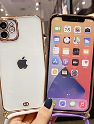 cheap -Phone Case For Apple Full Body Case iPhone 12 Pro Max 11 SE 2020 X XR XS Max 8 7 Transparent Clear Transparent Silicone Silica Gel