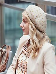 cheap -Headwear Wool / Acrylic Hats with Polka Dot 1pc Casual / Daily Wear Headpiece