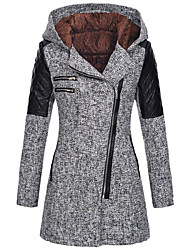 cheap -jacket women's stylish cardigan casual thick soft outwear(gray,xl(2xl))