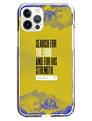 cheap -phrase instagram style case for apple iphone 12 11 se2020 unique design search for the lord protective case shockproof back cover tpu