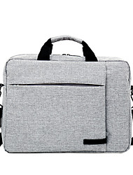 cheap -Unisex Nylon Laptop Bag Zipper Solid Color Daily Office & Career Dark Grey Red Light Grey Pale Blue