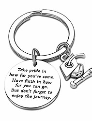 cheap -Keyring Graduation Gifts for Him/Her Inspirational Words Take Pride in How Far You Have Come Have Faith in How Far You Can Go Keychain Gifts for Graduates (Take Pride in)