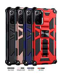 cheap -Shockproof Case For Samsung Galaxy S20 FE 5G S10 Plus S20 Ultra J2 Prime / Galaxy A51 Shockproof Back Cover Geometric Pattern TPU / Pc