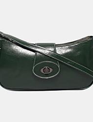 cheap -women fashion lock solid casual shoulder bag