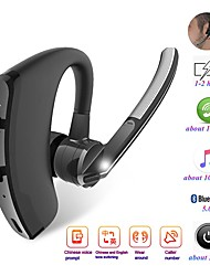 cheap -Car Truck Motorcycle V8 Bluetooth Headsets Business Bluetooth Earphone Sport Wireless Bluetooth Headset Handsfree Earphone Voice control with Microphone