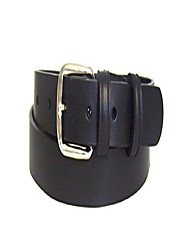 "cheap -Childrens Black Leather Belt - 100% Real Leather for Boys and Girls - 25mm wide - 34""(86cm) Waist. TOTAL BELT LENGTH is 42""(107cm)."
