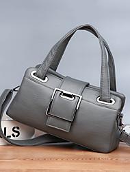 cheap -women pu leather multi-carry casual fashion pillow bag shoulder bag crossbody bag handbag