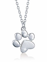 cheap -sterling silver memory round floating pendant necklace