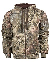 cheap -Classic Thermal Zip Camo Hoodie, Mountain Shadow, Large