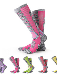 cheap -Unisex Hiking Socks Thermal Warm Breathable Wool Camping / Hiking / Cotton