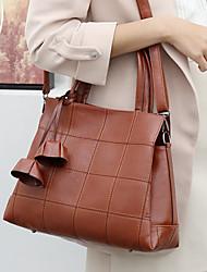 cheap -women solid business handbag crossbody bag shoulder bag