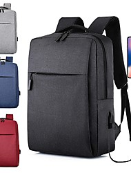 cheap -OCOOL Business Backpack Laptop Bag Classic Backpacks 17L with USB Charging Students Men Women Schoolbags For 15-inch Laptop
