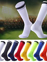 cheap -Compression Socks Athletic Sports Socks Running Socks 1 Pair Tube Socks Socks Compression Socks Breathable Sweat wicking Comfortable Running Active Training Jogging Sports Color Block Polyster