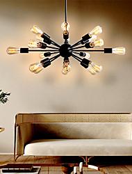 cheap -18 Bulbs 75 cm Designers Chandelier Metal Sputnik Painted Finishes Traditional / Classic 110-120V / 220-240V