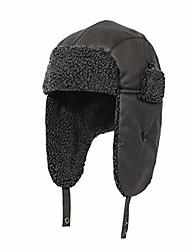 cheap -Winter Trapper Russian Ushanka Hat Ear Flap Sherpa Fleece Lined Trooper with Windproof for Men Dark Grey