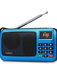 cheap -w405 portable radio fm radio speaker music player
