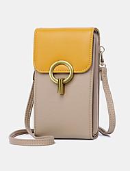 cheap -women casual patchwork 6.3inch phone bag 4 card slots crossbody bag shoulder bag