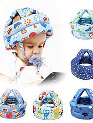 cheap -Baby Safety Helmet Headguard No-Bumps Adjustable Head Protector Random Color
