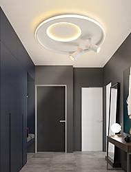 cheap -3-Light 40 cm Globe Design Flush Mount Lights Metal LED Nordic Style 110-120V 220-240V