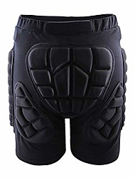 cheap -Outdoor Roller Skating Protective Shorts Ski Skating Diaper Pants Adult Children's Anti-Fall Pants Protective Gear/Breathable/Soft,XXL