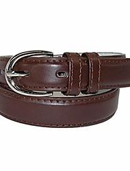cheap -Kid's Leather 1 inch Basic Dress Belt, Medium, Brown
