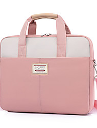 cheap -Unisex Waterproof Oxford Cloth Laptop Bag Zipper Daily Office & Career Black Pink Sky Blue Gray