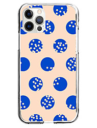 cheap -Circle Phone Case For Apple iPhone 13 12 Pro Max 11 X XR XS Max iPhone 6s Plus / 6 Plus iPhone 6s / 6 Unique Design Protective Case Shockproof Pattern Back Cover TPU