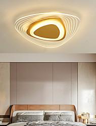 cheap -52 cm Geometric Shapes Flush Mount Lights Metal Acrylic LED Nordic Style 110-120V 220-240V / CE Certified