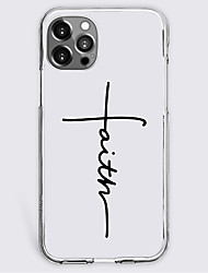 cheap -Quotes & Sayings Fashion Phone Case For Apple iPhone 13 12 Pro Max 11 SE 2020 X XR XS Max 8 7 Unique Design Protective Case Shockproof Back Cover TPU