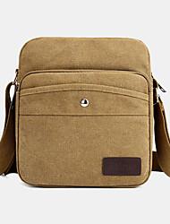 cheap -men canvas shoulder bag crossbody bag for outdoor