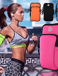 cheap -Phone Armband Running Armband Running Pack for Camping / Hiking / Caving Jogging Folding Bike Trekking Sports Bag Multifunctional Rain Waterproof Scratch-resistant Poly / Cotton Nylon Fiber Women's