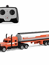 cheap -2.4G RC Tow Truck 1:32 Detachable Flatbed Semi-Trailer Engineering Tractor Remote Control Trailer Truck Electronics Hobby Toy