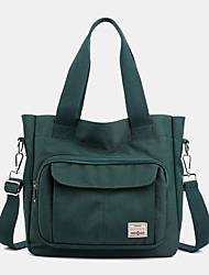cheap -women casual light weight tote solid handbag crossbody bag