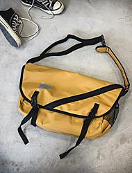 cheap -men large capacity shoulder bag chest bag crossbody bag