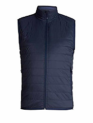 cheap -Men's Hyperia Lite Vest Down Alternative Outerwear Coats, XX-Large, Midnight Navy/Alpine
