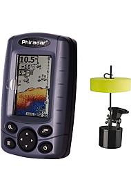 cheap -60.96 mm Fish Finder 12 pcs LCD 73 m Portable Electronic None Wireless 4×AAA Sea Fishing Ice Fishing Freshwater Fishing / Carp Fishing / General Fishing / Trolling & Boat Fishing