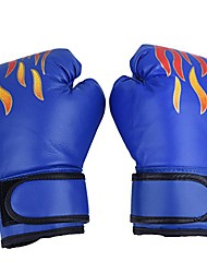 cheap -1Pair Children Boxing Gloves, Kickboxing Sparring Training Gloves Punching Bag Muay Thai Mitts for Kids, Youth(Blue)