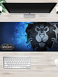 cheap -Warcraft tribal alliance mouse pad 700*300 mm Gaming Mouse Pad / Keyboard Pad / Large Size Desk Mat Rubber Dest Mat