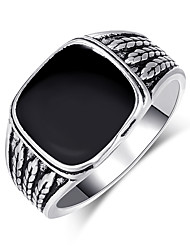 cheap -solid 925 sterling silver onyx stone turkish handmade luxury men's ring (9)