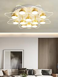 cheap -3-Light 5-Light 9-Light 50 cm Line Design Flush Mount Lights Metal Acrylic LED Nordic Style 110-120V 220-240V