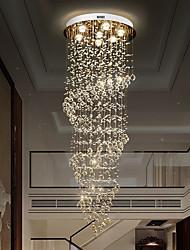 cheap -7-Light 60 cm Pendant Lantern Design Flush Mount Lights Stainless Steel Electroplated Modern 110-120V 220-240V