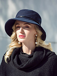 cheap -Headwear Casual / Daily 100% Acrylic Hats with Solid 1pc Casual / Daily Wear Headpiece