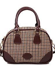 cheap -Women's Bags Top Handle Bag Date 2021 Handbags Dark Brown Black Khaki Brown