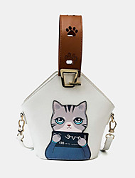 cheap -women fashion cute cat crossbody bag handbag shoulder bag