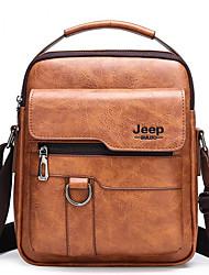 cheap -ekphero men vintage business bag crossbody bag office casual