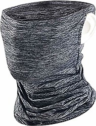 cheap -Unisex Face Covering - UV Protection Snood Balaclava Scarf Bandana Face Mask for Man - Cooling Breathable Cycling Headwear Headband with ear loops for Motorcycle Fishing Skiing(Gray)